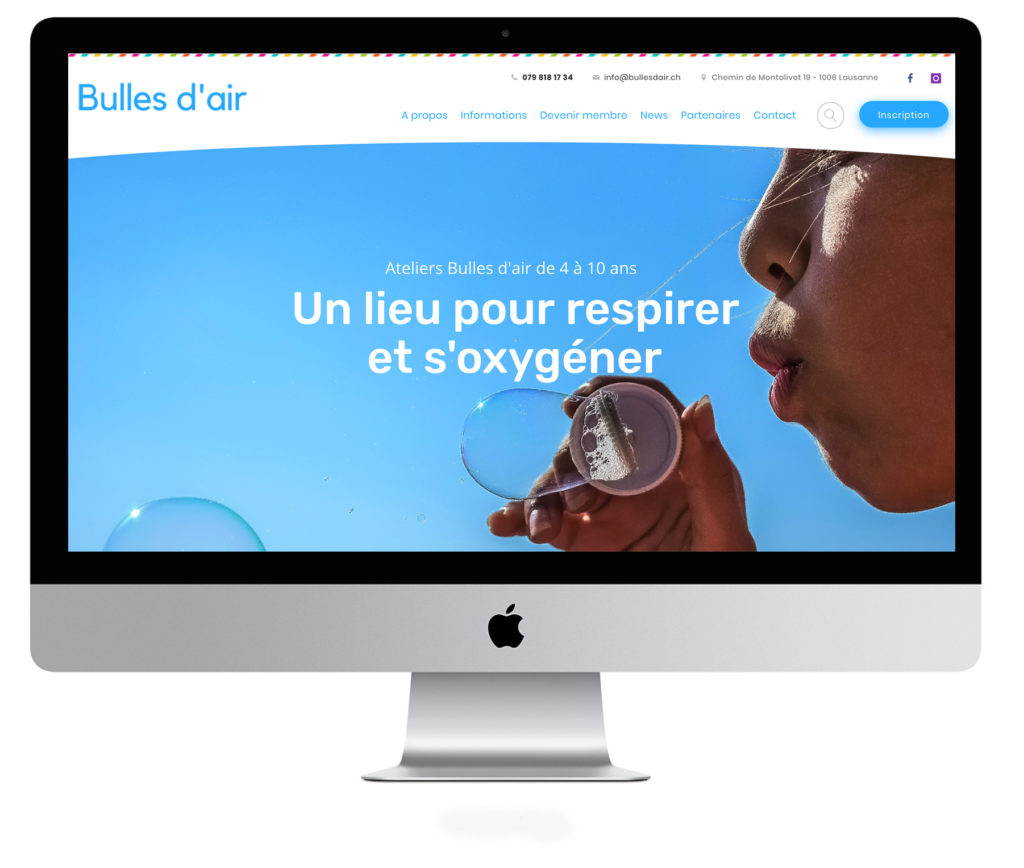 site web association bulles d air